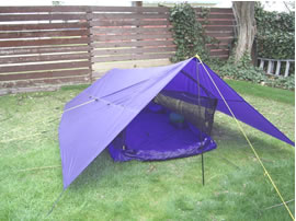 Figure 1 The Versatile Bilgy Too Tent