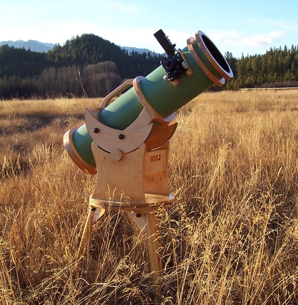 A Home Built 6 Inch F 4 9 Dobsonian Telescope