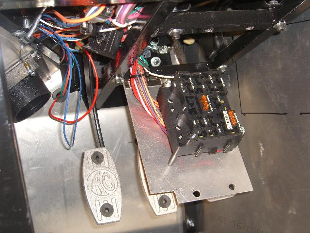 fuse box jpg i installed ffmetal com s trunk battery box and it looks terrific for the wires routed from the front to back of the car i decided to install a flexible