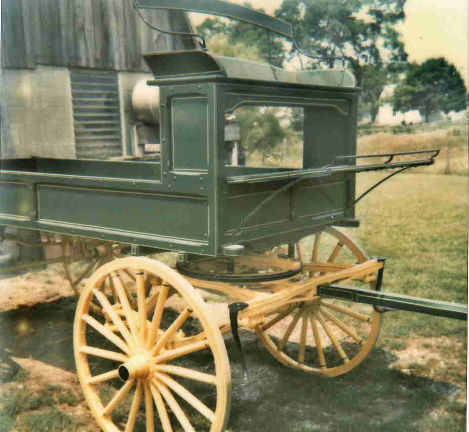 Amish Wagon Parts : Buggies