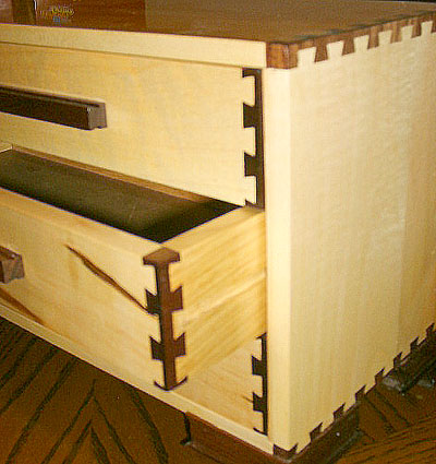 Cornerpost Dovetail Jewelry Cabinet - THE GOOD, THE BAD AND THE UGLY