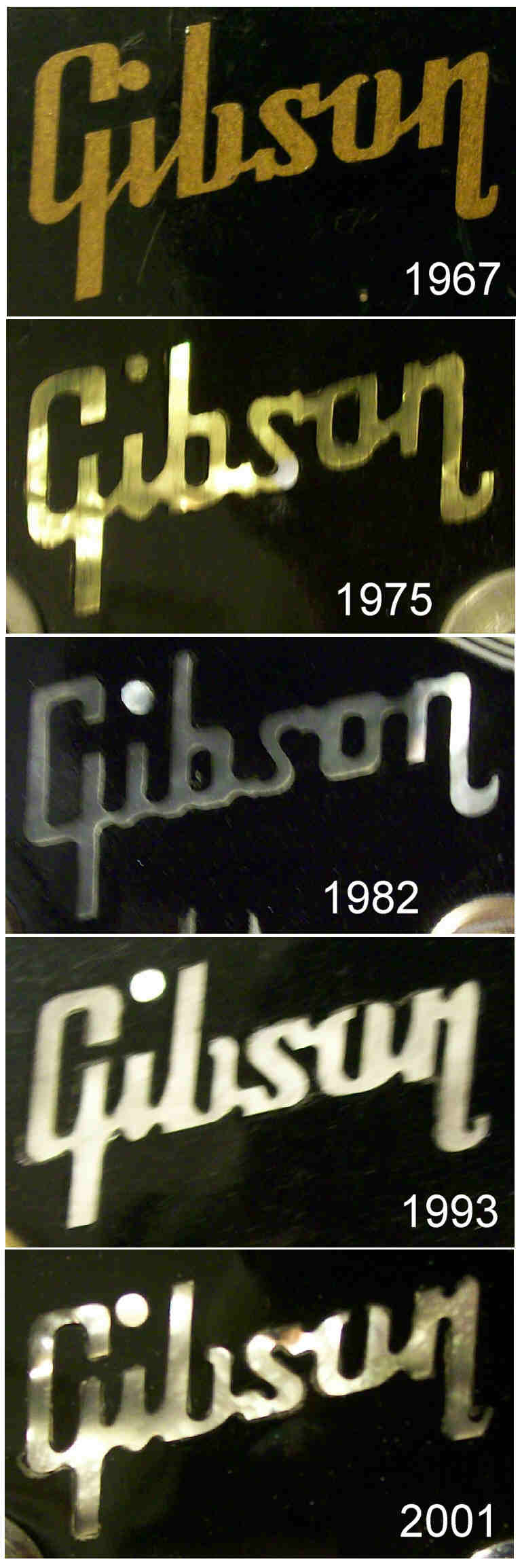 dating gibson logos Les paul's 96th birthday back to google logos.