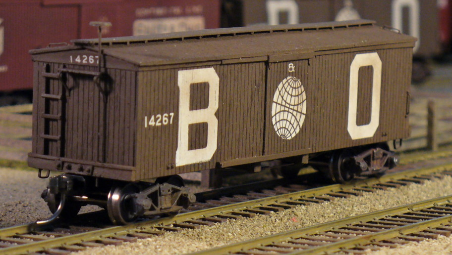 Building Early Baltimore And Ohio Boxcars