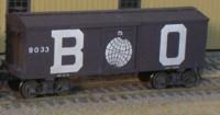 B&O Boxcar