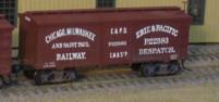 CM&StP Boxcars