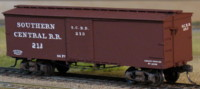 Southern Central Box car