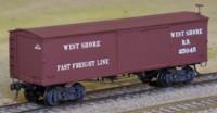 West Shore boxcar