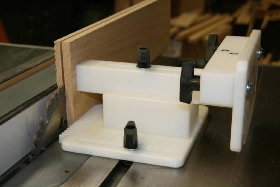 Dual Adjustable Featherboard Jig