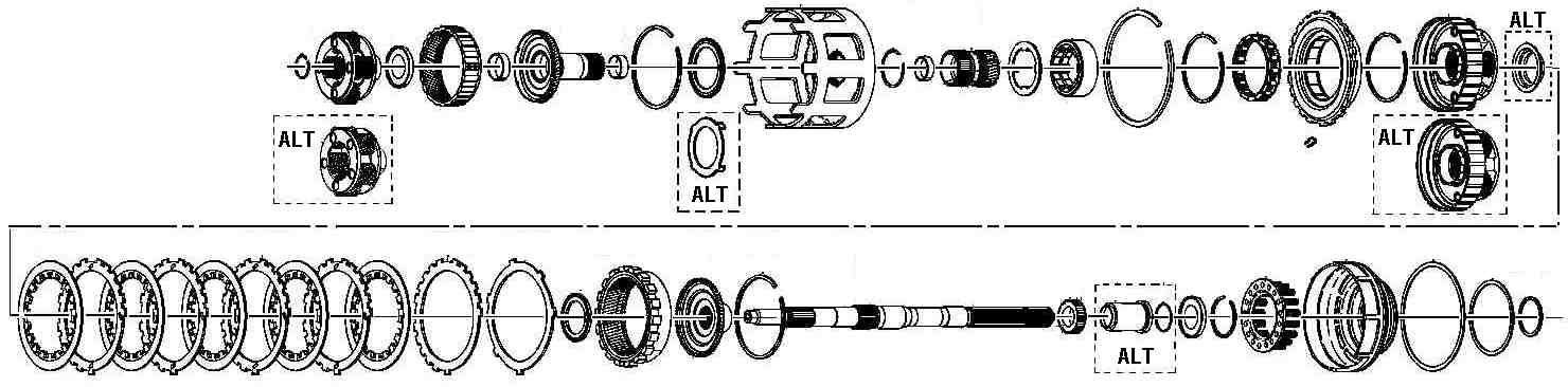 4l60e assembly : 4l60e transmission diagram - findchart.co